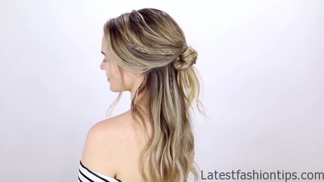 7 Easy Tiny Braid Hairstyles KayleyMelissa 17