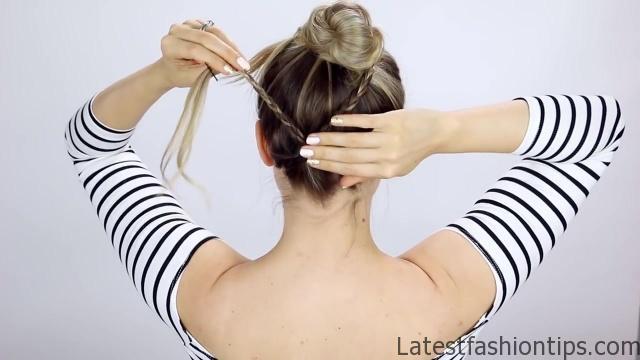 7 Easy Tiny Braid Hairstyles KayleyMelissa 19