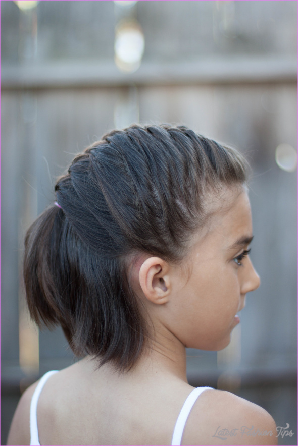 27 Cute Kids Hairstyles for School - Easy Back to School Hairstyle ...