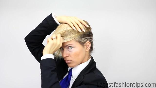 Donald Trump Hair Tutorial - LatestFashionTips.com