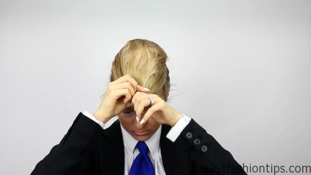 Donald Trump Hair Tutorial - LatestFashionTips.com