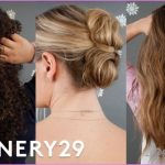 3 Easy & Gorgeous Holiday Hairstyles To Recreate | Beauty In A ...
