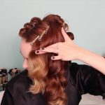 1920's Faux Bob, and Updo Tutorial!!_HD720 11
