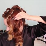 1920's Faux Bob, and Updo Tutorial!!_HD720 12