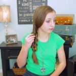 2-Minute Faux Fishtail Braid _ Cute Girls Hairstyles_HD720 10