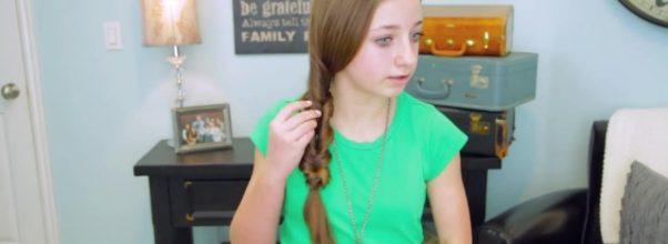 2-Minute Faux Fishtail Braid _ Cute Girls Hairstyles_HD720 10