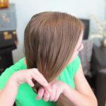 2-Minute Faux Fishtail Braid _ Cute Girls Hairstyles_HD720 7