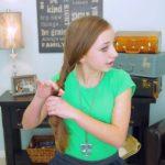 2-Minute Faux Fishtail Braid _ Cute Girls Hairstyles_HD720 8