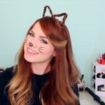 2 Ways to Make Cat Ears with Your Hair!_HD720 02