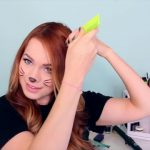 2 Ways to Make Cat Ears with Your Hair!_HD720 03