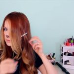 2 Ways to Make Cat Ears with Your Hair!_HD720 04