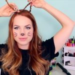 2 Ways to Make Cat Ears with Your Hair!_HD720 05
