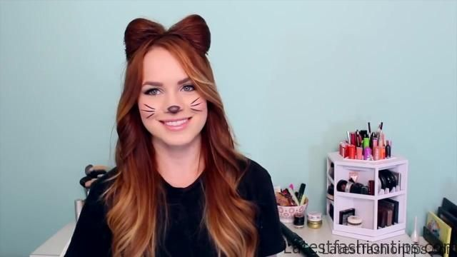 2 Ways to Make Cat Ears with Your Hair!_HD720 11