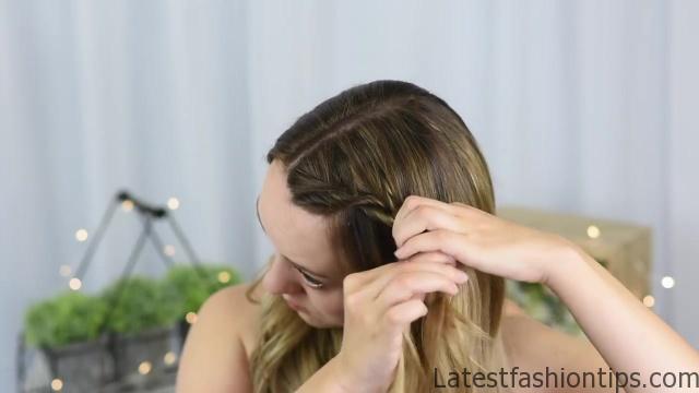 3 Easy DIY Hairstyles _ Back to School _ Cute Girls Hairstyles_HD720 05