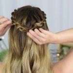 3 Easy DIY Hairstyles _ Back to School _ Cute Girls Hairstyles_HD720 07