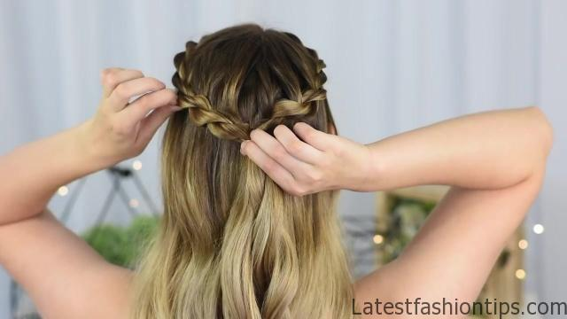 3 Easy DIY Hairstyles _ Back to School _ Cute Girls Hairstyles_HD720 07