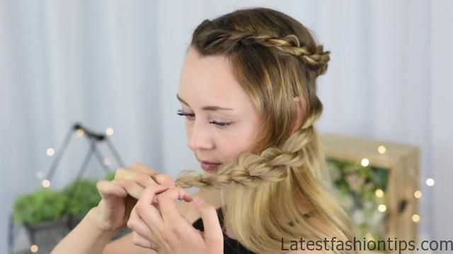 3 Easy DIY Hairstyles _ Back to School _ Cute Girls Hairstyles_HD720 08