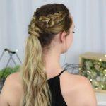 3 Easy DIY Hairstyles _ Back to School _ Cute Girls Hairstyles_HD720 09