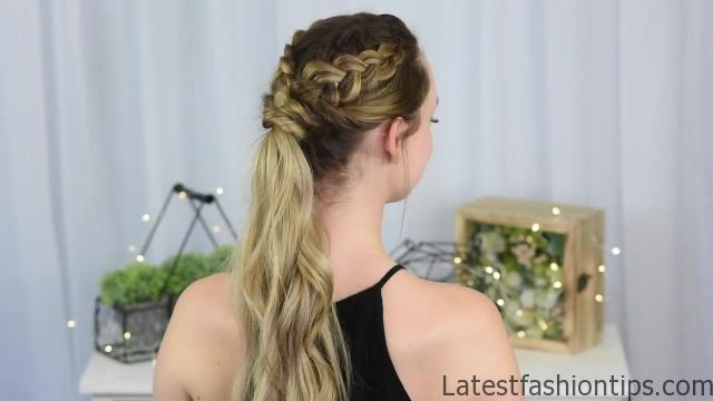 3 Easy DIY Hairstyles _ Back to School _ Cute Girls Hairstyles_HD720 09