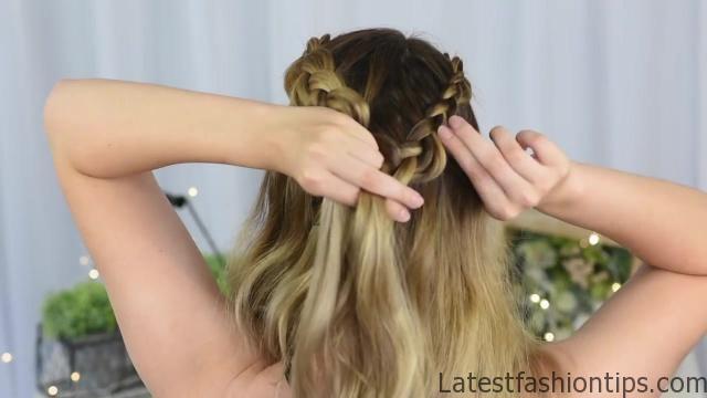 3 Easy DIY Hairstyles _ Back to School _ Cute Girls Hairstyles_HD720 12