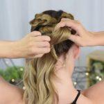 3 Easy DIY Hairstyles _ Back to School _ Cute Girls Hairstyles_HD720 14