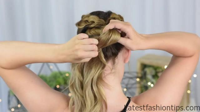 3 Easy DIY Hairstyles _ Back to School _ Cute Girls Hairstyles_HD720 14