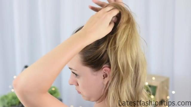 3 Easy DIY Hairstyles _ Back to School _ Cute Girls Hairstyles_HD720 15