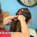 3-Minute Scarf Braid _ 4th of July Hairstyles_HD720 08