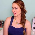 3 Quick Hairstyles for Sparkly Hair Accessories!_HD720 10