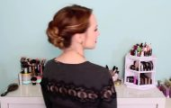 3 Quick Hairstyles for Sparkly Hair Accessories!_HD720 14