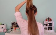 3 Ways To Get A Perky Ponytail!_HD720 6