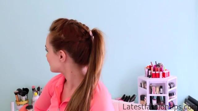3 Workout Ready Hairstyles + DIY Headband_HD720 02
