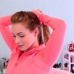 3 Workout Ready Hairstyles + DIY Headband_HD720 07