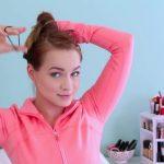 3 Workout Ready Hairstyles + DIY Headband_HD720 11