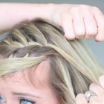 3-in-1 Cascading Waterfall _ Build-able hairstyle _ Cute Girls Hairstyles_HD720 07