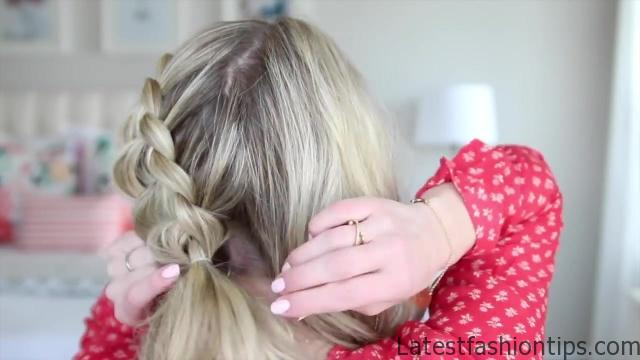 3-in-1 Double Dutch Braids_ Build-able Hairstyle _ Cute Girls Hairstyles_HD720 06