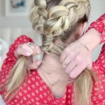 3-in-1 Double Dutch Braids_ Build-able Hairstyle _ Cute Girls Hairstyles_HD720 09