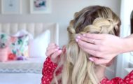 3-in-1 Double Dutch Braids_ Build-able Hairstyle _ Cute Girls Hairstyles_HD720 14