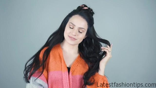 4 Braided hairstyles for Brunettes _ Dark Hair! - KayleyMelissa_HD720 02