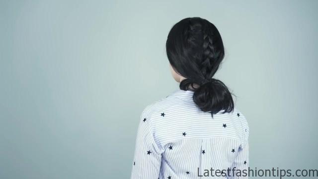 4 Braided hairstyles for Brunettes _ Dark Hair! - KayleyMelissa_HD720 06