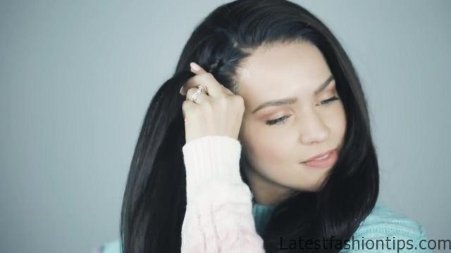 4 Braided hairstyles for Brunettes _ Dark Hair! - KayleyMelissa_HD720 10