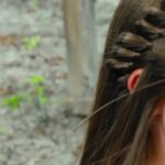 4-Strand French Braid Pinback _ Cute Girls Hairstyles_HD720 02