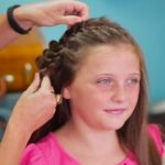 4-Strand French Braid Pinback _ Cute Girls Hairstyles_HD720 15
