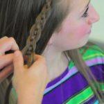 4-Strand Slide-Up Braid Cute Girls Hairstyles 10