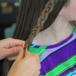 4-Strand Slide-Up Braid Cute Girls Hairstyles 11