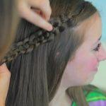 4-Strand Slide-Up Braid Cute Girls Hairstyles 15