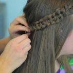4-Strand Slide-Up Braid Cute Girls Hairstyles 16