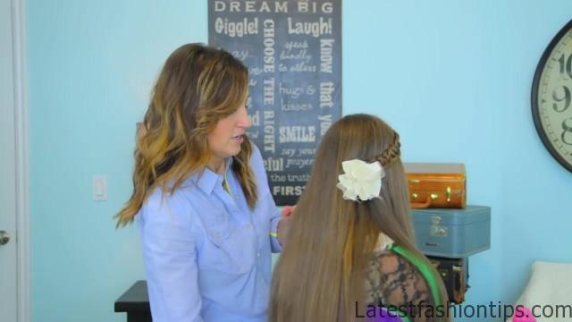 4-Strand Slide-Up Braid Cute Girls Hairstyles 18