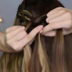4 Strand Waterfall_ Half Up Hairstyle _ Cute Girls Hairstyles_HD720 8