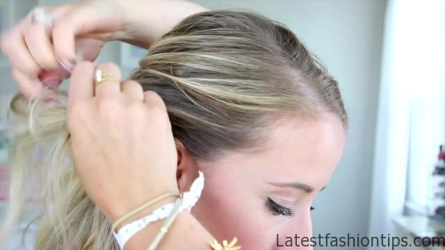 4 in 1 Pull-Thru Braid _ Cute Girls Hairstyles_HD720 05